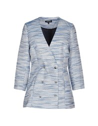 Sister Jane Suits And Jackets Blazers Women Pastel Blue