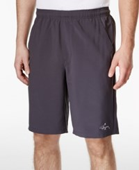 Greg Norman For Tasso Elba Men's Performance Shorts Only At Macy's Storm Grey