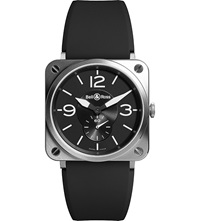 Bell And Ross Br S Black Steel Automatic Watch
