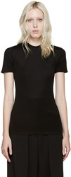 Paco Rabanne Black Open Back T Shirt
