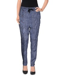 Replay Trousers Casual Trousers Women Dark Blue