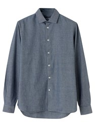 Jigsaw Selvedge Chambray Slim Shirt Chambray