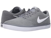 Nike Check Solar Cool Grey White Men's Skate Shoes Black