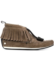 Rag And Bone Rag And Bone Moccasin Boots Brown