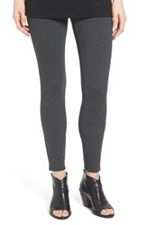 Eileen Fisher Petite Women's Ponte Knit Leggings Charcoal
