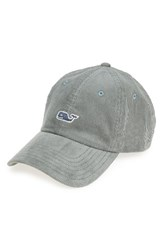 Vineyard Vines Men's Corduroy Baseball Cap Green Spanish Moss
