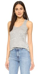 Feel The Piece Suna Linen Tank Heather Grey