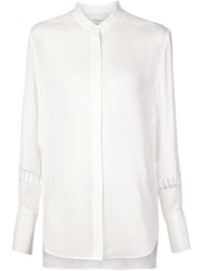 3.1 Phillip Lim Cut Out Sleeves Shirt White