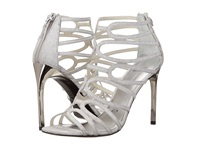 Stuart Weitzman Bridal And Evening Collection Loopdeloop Plata Glitterati High Heels White