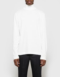 Our Legacy Turtleneck White Army Jersey