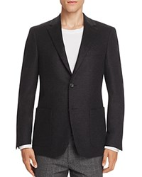 Theory Cranbrook Felted Slim Fit Sport Coat Charcoal