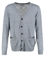Calvin Klein Jeans Selton Cardigan Vapour Blue Heather Mottled Light Grey