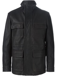 Canali Patch Pocket Jacket Brown