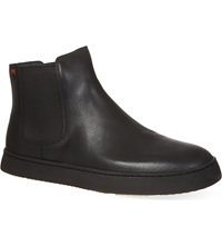 Camper Wedge Chelsea Boots Black