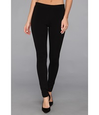 Hue Ponte Double Knit Leggings Black Women's Casual Pants