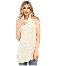Billabong Sidewaze Love Tunic Sweater Pearl Women's Sweater White