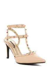 J. Renee Odanda Heel Pump Wide Width Available Beige