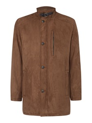Bugatti Microma Velours Outerwear Brown