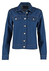 Wood Wood Kasi Denim Jacket Clean Blue Dark Blue