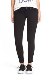 Junior Women's Rvca 'Lately' Zip Hem Skinny Jeans