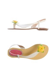 Poetic Licence Thong Sandals White