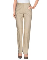 Jil Sander Trousers Casual Trousers Women Beige