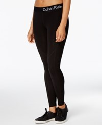 Calvin Klein Performance Logo Leggings Black