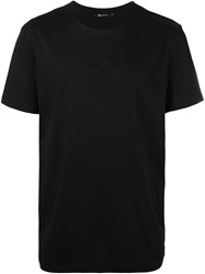 T By Alexander Wang Oversized T Shirt Black