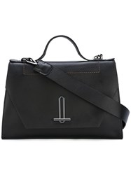 Desa 1972 Top Handle Tote Black