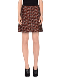Tara Jarmon Mini Skirts Rust