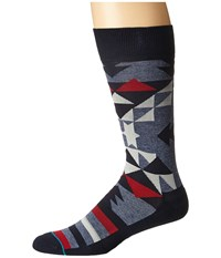 Stance Steed Blue Men's Crew Cut Socks Shoes