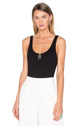House Of Harlow X Revolve Wren Tank Bodysuit Black