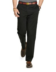 Polo Big And Tall Stretch Classic Fit Twill Pants Polo Black
