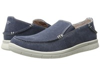 Dockers Ravello Navy Washed Canvas Men's Slip On Shoes