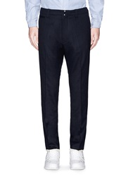 Nanamica Cuff Trim Wool Stretch Twill Pants Blue