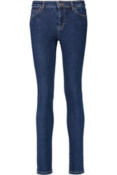 Mcq By Alexander Mcqueen High Rise Skinny Jeans Mid Denim