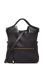 Foley Corinna Nikki Nylon City Tote Black