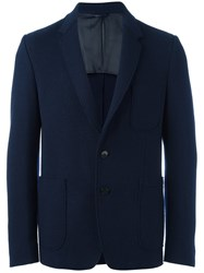 Dondup Double Buttons Blazer Blue