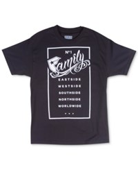 Famous Stars And Straps Famous Stars And Straps Men's Graphic Print T Shirt Black