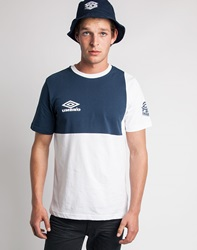 Umbro By Kim Jones Umbro Classic Europa T Shirt White Navy