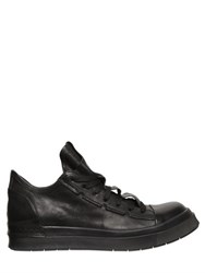 Cinzia Araia Smooth Leather Mid Top Sneakers