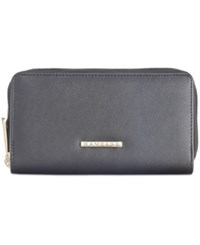 Rampage Saffiano Double Zip Wallet Only At Macy's Black