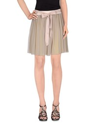 Gaudi' Skirts Mini Skirts Women Grey