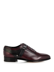 Alexander Mcqueen Leather Harness Derby Shoes