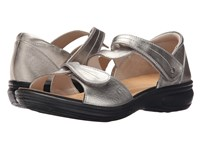 Revere Geneva Pewter Women's Flat Shoes