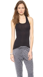 Splendid Layers Racer Back Tank Black