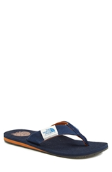 The North Face 'Dipsea' Flip Flop Men Cosmic Blue Adobe Brown