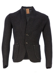 L'eclaireur Made By Se Chunky Knit Cardigan Grey