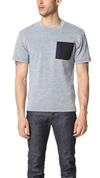 Patrik Ervell Technical Tee Navy White