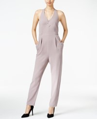 Bar Iii Halter Jumpsuit Only At Macy's Light Balsamic